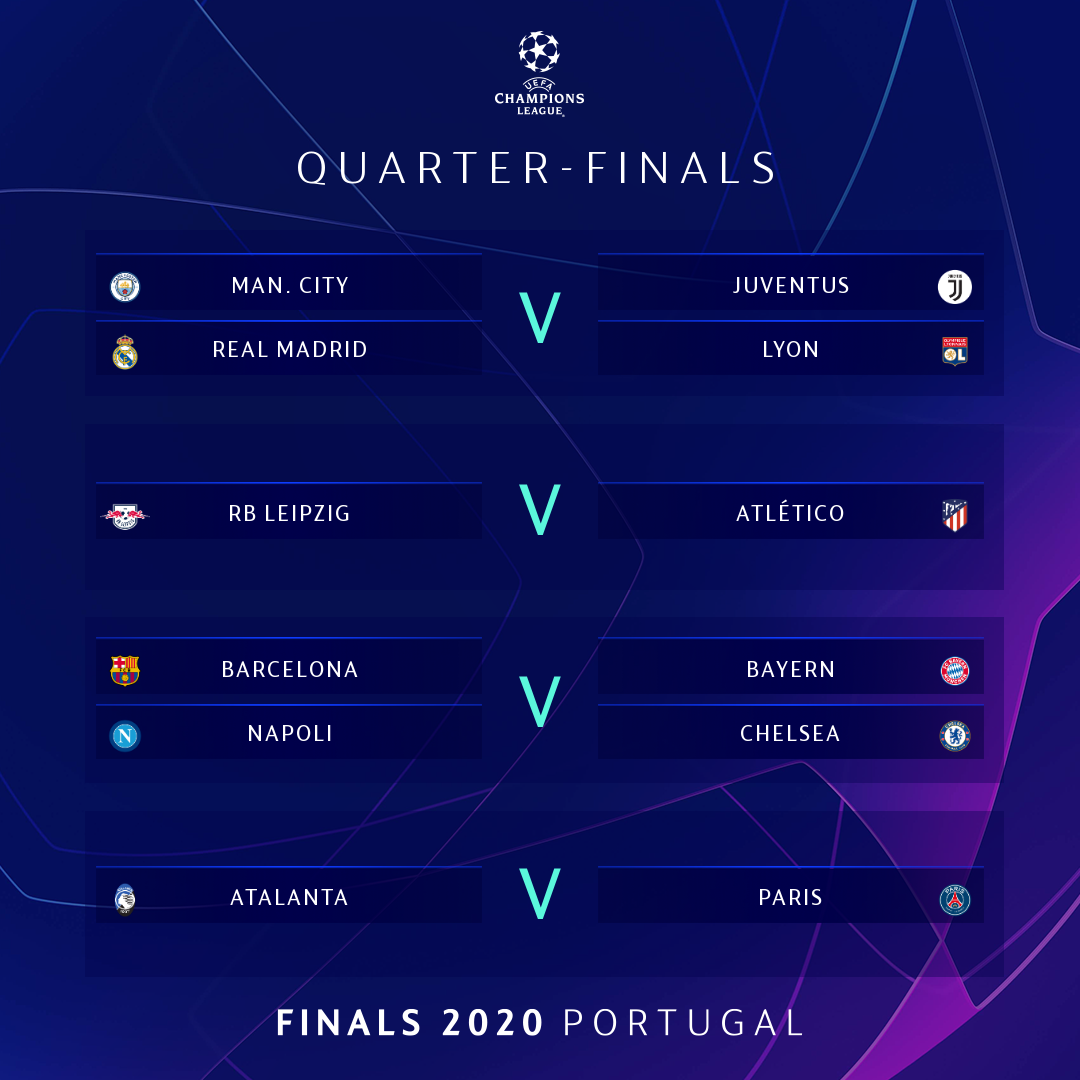 Download Uefa Champions League 2020 Teams